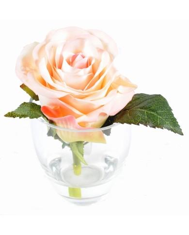 Künstliches Bouquet ROSE 1, ca. 14cm