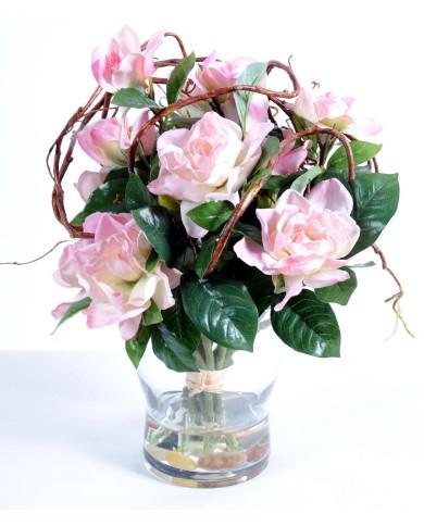 """Künstliches Blumenbouquet """"ROMANCE"""", ca. 35cm"""