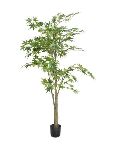 Künstlicher Wild Ahornbaum grün, ca. 150cm