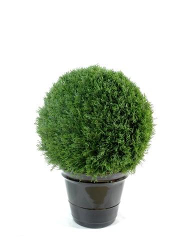 Künstliche Zypressen-Kugel, ca. 80cm (Ø 55cm)