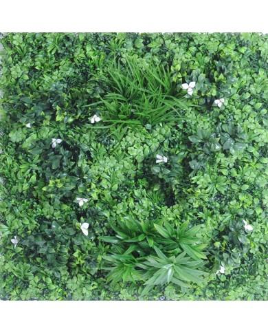 künstliches Blumen-Pflanzwand Paneel, 100x100cm