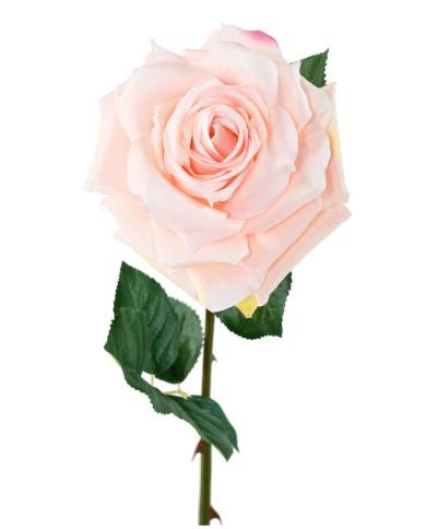 Künstliche Rose rosa, ca. 74cm
