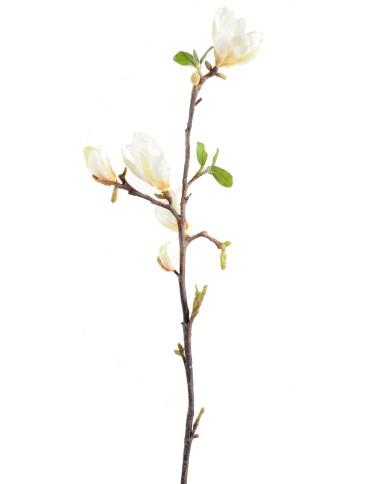 Künstliche Magnolie weiss, ca. 83cm