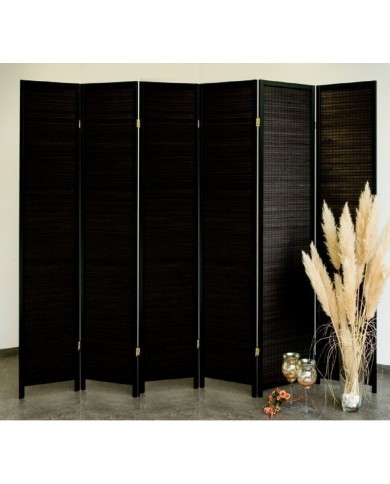 Paravent Black Wood 6 Trennwand, Paravents by Cilios®