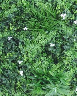 Pflanzenwand und Pflanzendecke